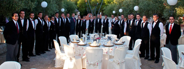 equipo catering